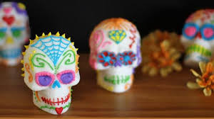 sugar skull molds make dia de los muertos sugar skulls in vallarta