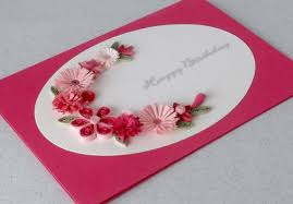 quilled birthday card works for valentine u0027s day too quilled