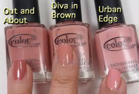 paillette a little nail polish journal haute browns color club