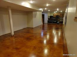 Photos Of Stained Concrete Floors by Cozy With Concrete Stained Concrete Floor Overlay By Dancer