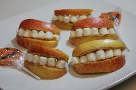 dentures on a plate happy halloween i heart recipes