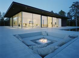 modern glass house stunning glass house in sweden