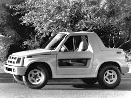 chevy tracker 1990 geo tracker hugger concept 1990 old concept cars