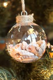 how to make your own seashell christmas ornament