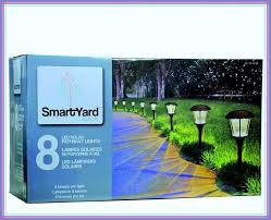 smartyard led string lights smartyard solar led large pathway lights 8 pack solar knowledge base