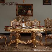 Royal Dining Room Royal Classic Furniture Handwork Gilding Golden Foil Royalty