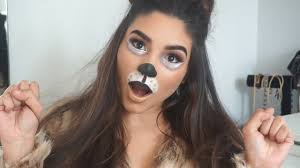 puppy halloween makeup cute u0026 easy costume youtube