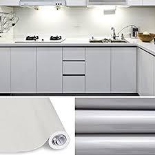 autocollant pour armoire de cuisine kinlo 10 0 61m papier peint auto adhésif gris pour armoire de