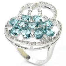 light blue sapphire ring jewelry gorgeous light blue sapphire ring poshmark