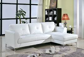 white italian leather ottoman 954 contemporary white italian leather sectional sofa left arm