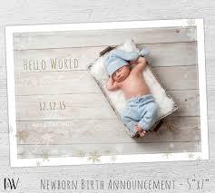 birth announcement birth announcement template baby boy birth announcement
