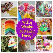 willy wonka birthday party the imagination tree