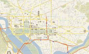 Detailed Map Of Usa by Washington Dc Map Street Maps Of Usa