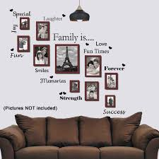 living room wall stickers living room wall stickers family is wall sticker