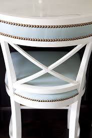 impressive white counter stools with backs bamboo swivel counter