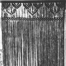 fly curtain macrame made by the knotwife macrame pinterest
