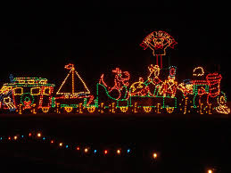 ride nellie u0027s double decker bus to the christmas lights at