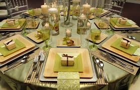 bamboo plates wedding the enchanted garden wedding reception with a green and