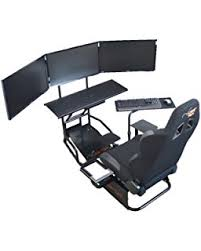 amazon com gtr simulator gtsf model with real racing seat