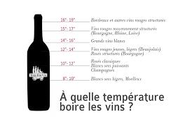 à quelle temperature servir un vin