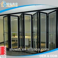 aluminium glass doors double glazing folding patio doors prices buy australia glass door