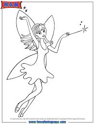 fairy princess magic wand coloring free printable