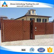 Modern Fence Modern Steel Gates And Fences Modern Steel Gates And Fences