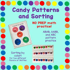 pattern practice games candy pattern practice by discovery station learners tpt