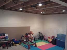 basement spray paint basement ceiling ideas basements spray