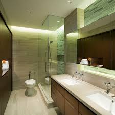 girly bathroom sets cool cutting glass tile decorating ideas for bathroom contemporary design with backlighting ceiling lighting