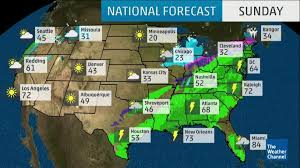 map of us weather forecast national forecast and current conditions the weather channel