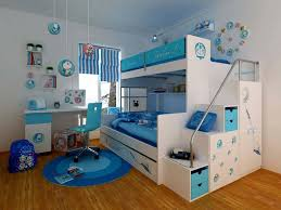 ideas wonderful kids bedroom ideas with skyblue and