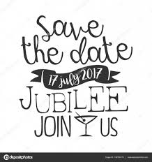 jubilee cocktail party black and white invitation card design