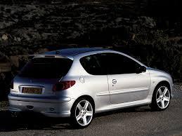peugeot 206 3 doors specs 2002 2003 2004 2005 2006 2007
