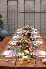 Fall Table Decor 62 Romantic Fall Wedding Tablescapes Happywedd Com