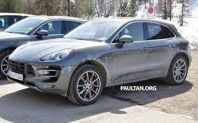 porsche macan base spyshots porsche macan gts is middle of the pack