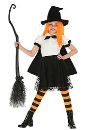 Halloween Witch Costumes Toddlers Fun Costumes Girls Girls Punky Witch Costume Funtober