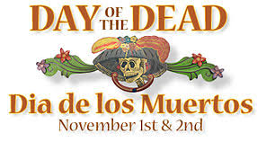 mexican day of the dead decorations and folk