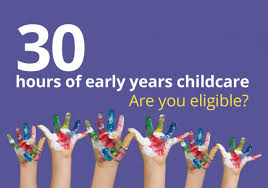 30 hours free childcare education and families