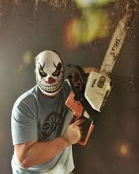 chainsaw halloween chainsaw halloween clown on instagram