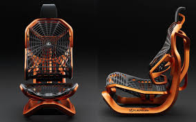 lexus near charlotte lexus uses synthetic spider silk in kinetic seat concept insidehook