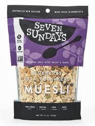 amazon com evoke morning zen gluten free muesli 12 ounce