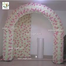 wedding arch backdrop uvg 2 5m artificial and hydrangea wedding arch in flowers for