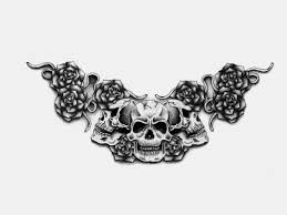 roses tattoo for girls watch tattoos gothic skull gothic skull and