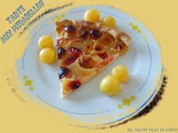 cuisiner les mirabelles ma nouvelle façon de cuisiner tarte aux mirabelles 5 pts
