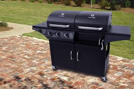 Brinkmann Dual Gas Charcoal Grill by Amazon Com Char Broil Deluxe 1010 3 Burner Liquid Propane And