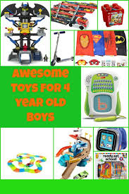 awesome toys for 4 year boys toys for