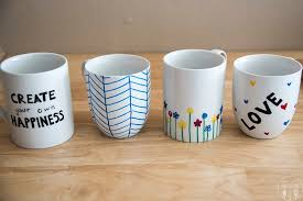 diy personalized mugs like like