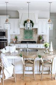 kitchen decor ideas for white cabinets 35 best farmhouse kitchen cabinet ideas and designs for 2021