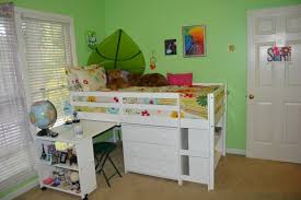 Space Loft Bed With Desk Bunk Bed With Desk A Space Saver For My Daughter U0027s Tiny Room